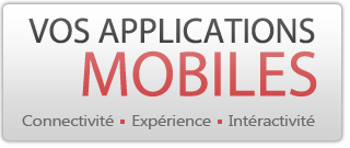 Vos applications mobile